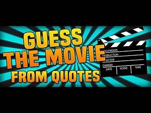 Ultimate Movie Quotes: Trivia (With SirCardinal)