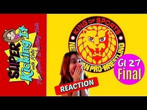 REACTION Omega vs Naito NJPW G1 Climax 27 Final - SuperKicking It With Kelsi