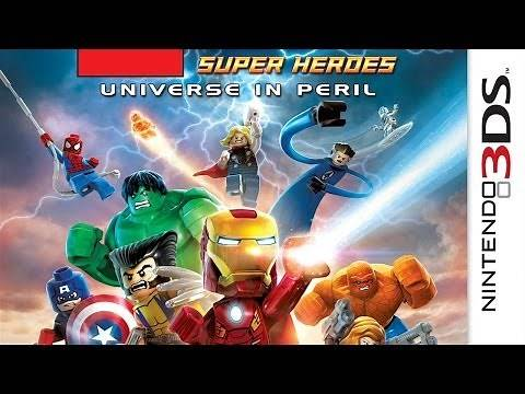 CGR Undertow - LEGO MARVEL SUPER HEROES: UNIVERSE IN PERIL review for Nintendo 3DS