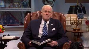 Jim Carrey's Joe Biden Is Visited By the Ghost of Kate McKinnon's Hillary Clinton in the SNL Cold Open