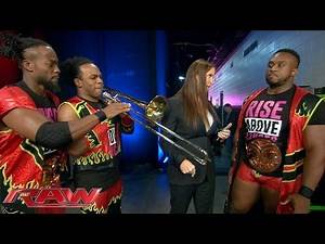 """Stephanie McMahon sends The New Day to """"Hell"""": Raw, Oct. 5, 2015"""