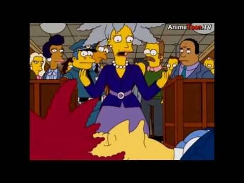 The Simpsons: Sideshow bobs death and funeral [Clip]