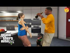 GTA 5 - How to Get a Girlfriend (Franklin and Ursula)   GamePlay