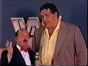 André The Giant Interview [1985-05-05]
