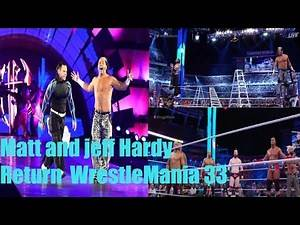 WrestleMania 33 || Hardy Boys Returns || Full Match || WWE Wrestlemania 33 Tag Team Championship