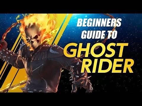 Ghost Rider Beginners Guide - Marvel Ultimate Alliance 3 (MUA3)