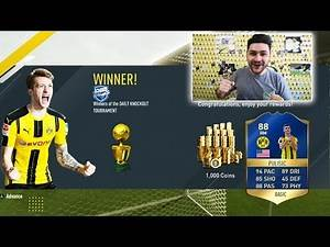 FIFA 17 WINNING THE TOTS PULISIC CUP - BEST FIFA 17 SQUAD BUILDER OF THE YEAR - SPECIAL 24 TOTS