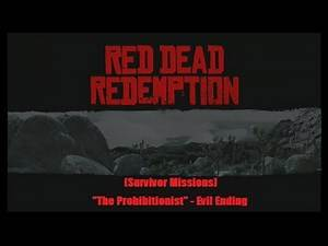 "Red Dead Redemption Hardcore Mode (Stranger Missions) ""The Prohibitionist"" Evil Ending"" [Xbox 360]"