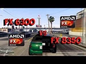 FX 6300 vs FX 8350 Test in 5 Games (R9 380)