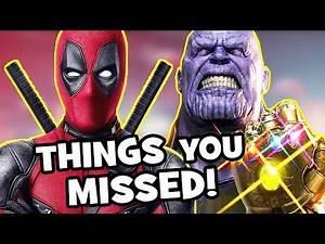 DEADPOOL 2 TRAILER: Avengers Infinity War Easter Eggs & Things You Missed