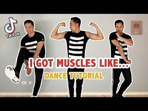 I Got Muscles Like Superman's Trainer (Tik Tok Dance Tutorial) | Step By Step Tutorial