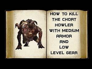 The Witcher 3 Guide - Chort Howler with Medium Armor