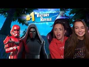 Accidentally Winning FORTNITE as Star Wars Characters!