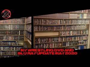 My Wrestling DVD & Blu-ray Update May 2020