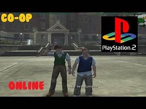 How To Play Bully CO-OP Multiplayer On PS2 (Tutorial)