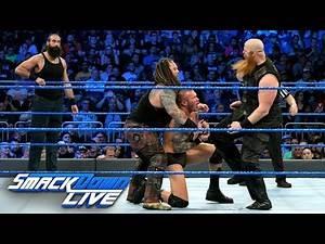 Randy Orton & Luke Harper vs. Bray Wyatt & Erick Rowan: SmackDown LIVE, April 4, 2017