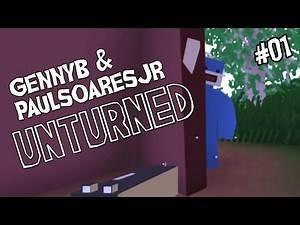 "UNTURNED w/ PaulSoaresJr Ep 01 - ""Team Old Fogeys vs Zombies"""