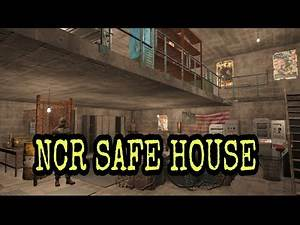 Fallout 4 Settlement: NCR Safehouse!!