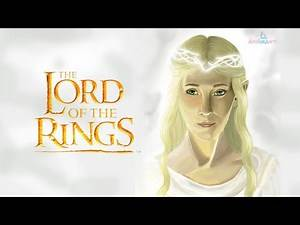 The Lord of the Rings – speed art of Galadriel   Photoshop painting process #speedart