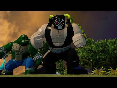 LEGO Batman 3: Beyond Gotham - All Big-Fig Characters