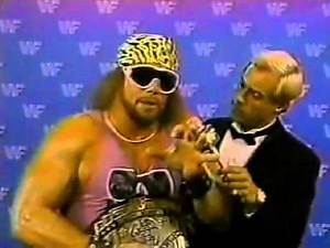 Macho Man Randy Savage Promo on George Steele (08-23-1986)