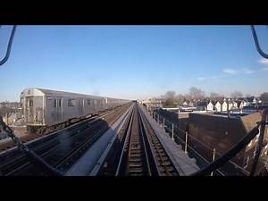 IND Subway: Ozone Park bound R32 (A) Express Train Ride from Inwood-207th Street to Lefferts Blvd