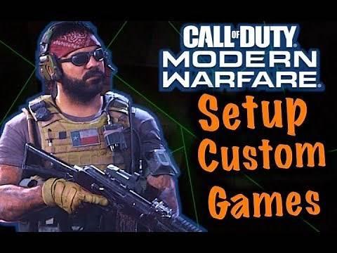 How to Create a Custom Game in Modern Warfare