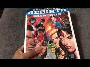 DC Universe Rebirth Omnibus Unboxing