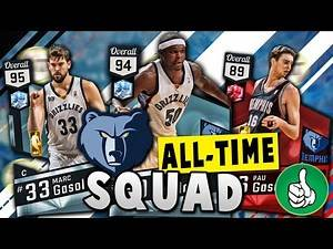 NBA 2K17 ALL-TIME GRIZZLIES TEAM!!! | NBA 2K17 MyTEAM Squad Builder