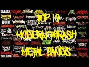 TOP 10 MODERN THRASH METAL BANDS