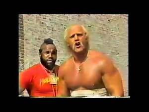 Hulk Hogan and Mr T talk about Wrestlemania 2