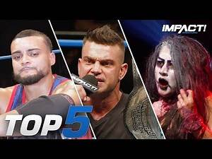 Top 5 Must-See Moments from IMPACT Wrestling for Sep 6, 2019 | IMPACT! Highlights Sep 6, 2019