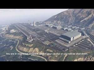 [GTA V] Restricted Airspace Warnings