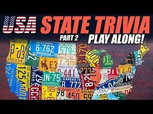 USA State Trivia - Part II