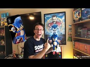 Sonic The Hedgehog Movie Merchandise Unboxing