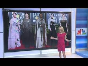 Stars rock the 76th annual Golden Globes red carpet