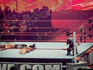 WWE Royal Rumble Edge vs Dolph Ziggler