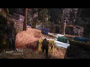 Uncharted 4 Stealth Combat 2