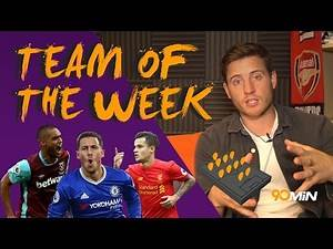 Is Eden Hazard back?! Liverpool for the title?   90min Team of The Week
