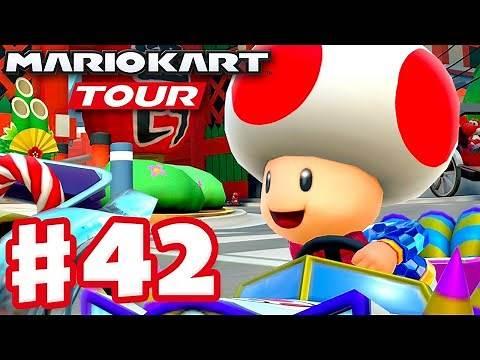 Party Time Toad! - Mario Kart Tour - Gameplay Part 42 (iOS)