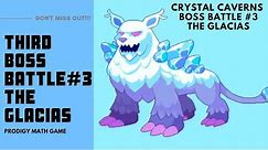 Prodigy Math Game   Crystal Caverns The Glacias Boss Battle #3 .