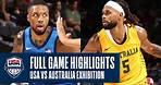 USA vs. Australia EXHIBITION | FULL GAME HIGHLIGHTS | JULY 12, 2021