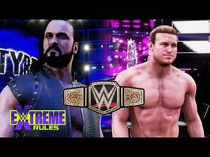 Extreme Rules 2020 - Drew McIntyre Vs Dolph Ziggler For The WWE Title - WWE 2K20