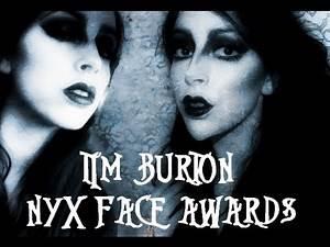 NYX Face Awards Round 2: Tim Burton Character Makeup