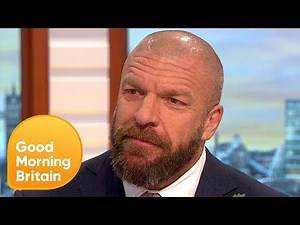 WWE Superstar Triple H Addresses Conor McGregor and Ronda Rousey Rumours   Good Morning Britain