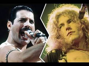 Top 10 Rock Singers Of All Time