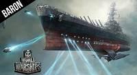 World of Warships Yamato Space Battleship Galaxy Star Cruiser Gameplay!