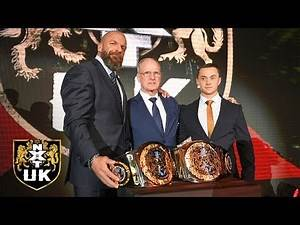 The NXT UK Tag Team Championships get unveiled: NXT UK, Dec. 12, 2018