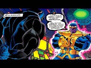 Thanos vs Darksied (Appearance in comics)