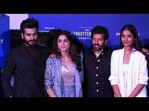 The Forgotten Army Azaadi Ke Liye - Official Trailer Launch | Kabir Khan | Sunny Kaushal, Sharvari